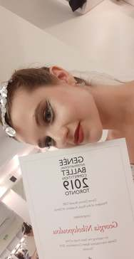 Η Πατρινή Γεωργία Νικολοπούλου μάγεψε στο Genée International Ballet Competition (pics)