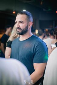 Nikos Diamantopoulos & Andy Es at Pas Mal 29-09-19