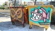 Κρήτη: Οι κάδοι απορριμμάτων στο Ηράκλειο άλλαξαν όψη (φωτο)