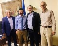 Ο Θεόδωρος Βασιλόπουλος συναντήθηκε με τους Γενικούς Γραμματείς του ΥΠΑΑΤ