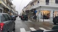 Πλημμύρισαν σπίτια και καταστήματα στην Αιτωλοακαρνανία από την κακοκαιρία (video)