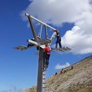 Ξεκίνησε η επισκευή του αναβατήρα 'Στύγα', στο Χιονοδρομικό Κέντρο Καλαβρύτων! (φωτο)