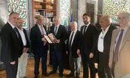 Συνάντηση αντιπροσωπείας Διακοινοβουλευτικής Συνέλευσης Ορθοδοξίαςμε τον Πρόεδρο της Βουλής