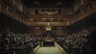 Πωλήθηκε ο πίνακας του Banksy που απεικονίζει το βρετανικό κοινοβούλιο γεμάτο χιμπατζήδες