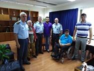 Πάτρα: Μέλη της Περιφερειακής Ομοσπονδίας ΑμεΑ συναντήθηκαν με τον Νικόλαο Σπανουδάκη