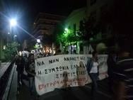 Ο Δήμαρχος Πατρέων στο συλλαλητήριο της Επιτροπής Ειρήνης