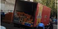Τροχαίο στην Ηλιούπολη: Έτσι το φορτηγό σκότωσε τον 56χρονο (video)