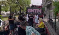 Ζευγάρι τσακώθηκε βλέποντας τα μοντέλα GNTM, να ποζάρουν με τα εσώρουχα (video)
