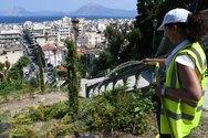 Πάτρα - Διευκρινήσεις του δήμου για το κλάδεμα στις σκάλες της Αγίου Νικολάου