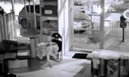 Η στιγμή της διάρρηξης σε κατάστημα με χαλιά στη Θεσσαλονίκη (video)