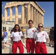 Σωτήρια επέμβαση εθελοντριών του Ελληνικού Ερυθρού Σταυρού σε περιστατικό καρδιακής ανακοπής τουρίστριας
