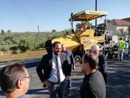 Δυτική Ελλάδα - Επίσκεψη του Νεκτάριου Φαρμάκη σε οδικά έργα (φωτο)