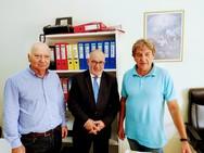 Συναντήσεις εργασίας του Πάνου Σακελλαρόπουλου στην Αιτωλοκαρνανία