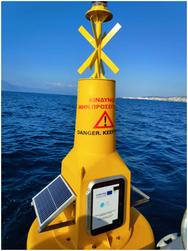 Τοποθετήθηκε κυματογράφος στην θαλάσσια περιοχή του Νότιου Λιμένα Πατρών