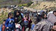 Περισσότεροι από 2.300 Σύροι πρόσφυγες έφθασαν στο Ιράκ μετά την τουρκική επίθεση