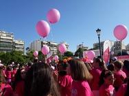 Το Pink the City αναζωπύρωσε την ελπίδα 'βάφοντας' την Πάτρα ροζ! (pics)