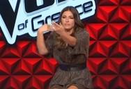 Tο «καυτό» τσιφτετέλι της Έλενας Παπαρίζου στο Voice (video)