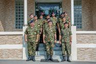 Επίσκεψη Αρχηγού Γενικού Επιτελείου Στρατού στη Μεραρχία Υποστηρίξεως