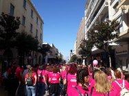 Πάνω από 11.000 άτομα πήραν μέρος στο Pink the City της Πάτρας!