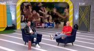 Η φιλοσοφική ατάκα του Γιώργου Αγγελόπουλου που προβλημάτισε τον Μουτσινά! (video)