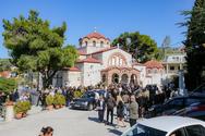 Ράγισαν καρδιές στην κηδεία της Σοφίας Κοκοσαλάκη (φωτο)
