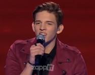 X-Factor: Τραγούδησε Σάκη Ρουβά και τον αποθέωσαν (video)
