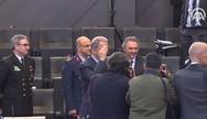 Προκλητικός στρατιωτικός χαιρετισμός Ακάρ στο ΝΑΤΟ