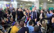 Έφτασε στην Μόσχα η Μαρία Μπούτινα