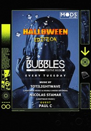 Bubbles - Halloween Edition feat. Paul C at Mods Club