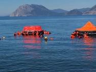 Ναυάγιο στη θαλάσσια περιοχή της Πλαζ, στην Πάτρα (φωτο)