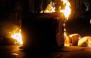 Αγρίνιο - Έβαλε φωτιά σε κάδο απορριμμάτων