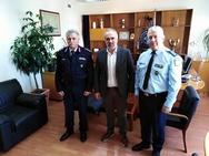 Ο νέος Διευθύνοντας Σύμβουλος του ΟΛΠΑ, επισκέφθηκε τη ΓΕ.Π.Α.Δ. Δυτικής Ελλάδας και τη Διεύθυνση Αστυνομίας Αχαΐας