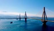 'Αριστούργημα' η Γέφυρα Ρίου - Αντιρρίου, από ψηλά! (video)
