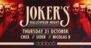 Joker's Halloween Night at Dabboo