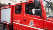 Πάτρα: Ξέσπασε φωτιά στον καταυλισμό του Ριγανόκαμπου