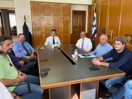 Ο Παναγιώτης Σακελλαρόπουλος προχώρησε σε συνάντηση με το προσωπικό της ΠΕ Ηλείας