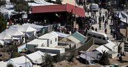 Πάνω από 15.000 πρόσφυγες και μετανάστες στον καταυλισμό της Μόριας