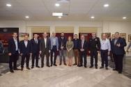 Ο Νεκτάριος Φαρμάκης σε εκδήλωση στο Αίγιο και στο Πανελλήνιο Συνέδριο Μελισσοκομίας! (φωτο)