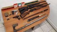 Ημαθία: Έκρυβαν ολόκληρο οπλοστάσιο μέσα σε κατάστημα