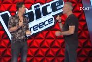 Ο Στέλιος Ρόκκος ανέβηκε στη σκηνή του Voice (video)