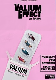 Valium Effect at More steps Naja