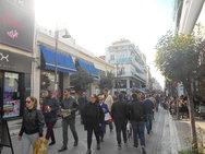 Πάτρα: Ελπίζουν σε 'ούριο' άνεμο οι έμποροι, βαδίζοντας προς τις γιορτές