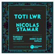 BPM party - Toti LWR & Nicolas Stamar at Mods Club