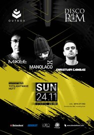 OutBox with Manolaco-Mikee & Christian Cambas at Disco Room