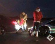 Ο Πιέρ Εμερίκ Ομπαμεγιάνγκ τράκαρε την πανάκριβη Lamborghini του! (video)