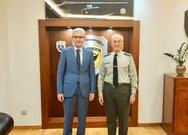 Συνάντηση του Άγγελου Τσιγκρή με τον Αρχηγό του Γενικού Επιτελείου Στρατού