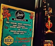 Sailor Jerry Party at Bocas Bar beer & wine