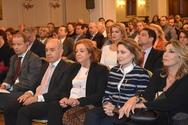 Η Χριστίνα Αλεξοπούλου στην εκδήλωση του Ινστιτούτου Δημοκρατίας Κωνσταντίνος Καραμανλής