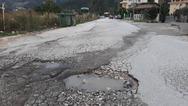 Πάτρα: Χάλια ο δρόμος στο Πετρωτό που οδηγεί στο 'Α. Κάνιστρας' (φωτο)