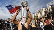 Εκατοντάδες διαδηλωτές τυφλώθηκαν από σκάγια της αστυνομίας στη Χιλή